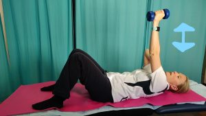 How to Improve Shoulder Strength for Desk Workers - starter exercise.