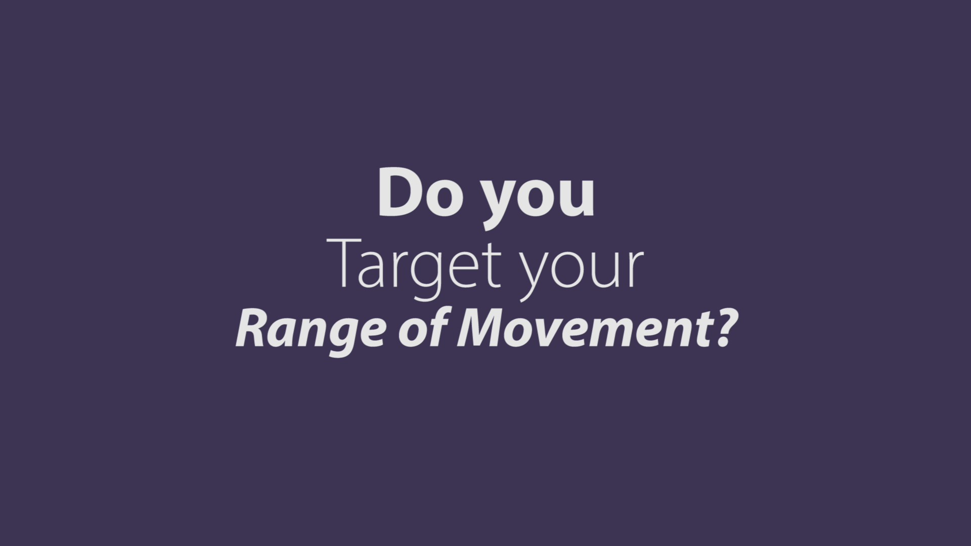 Do you Target your ROM