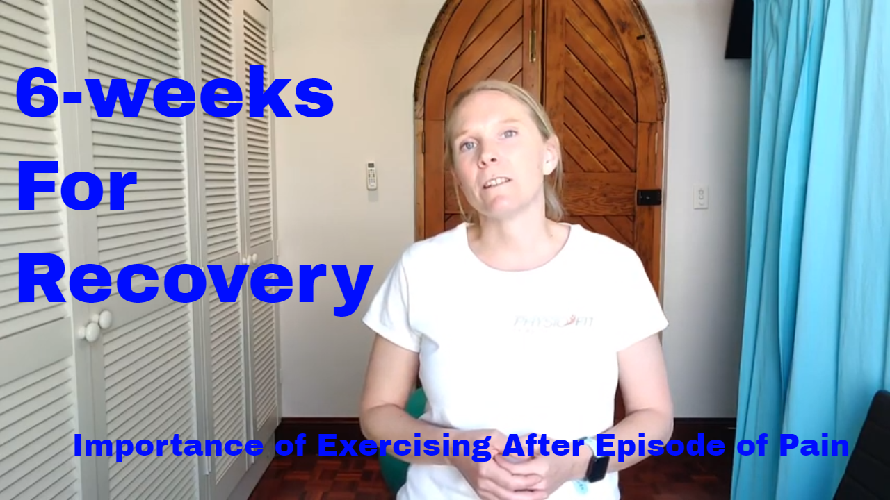 6-weeks for recovery
