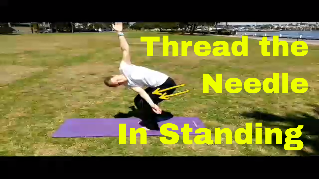 Thread the Needle in Standing
