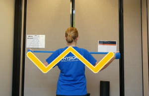 Shoulder Blade Strengthening Workout: W-Shape. This is how it should be done.