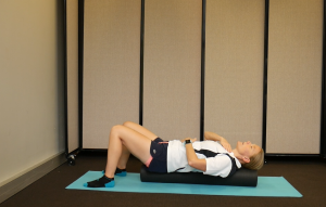 How to Ease Back Tension with a Foam Roller: Focus on Breathing