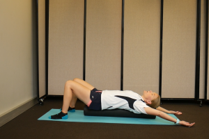How to Ease Back Tension with a Foam Roller: Relax with Arm Movement