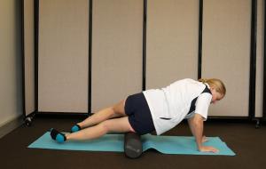 Best Foam Roller Exercises for Quads: Variation #1: Rotate the Leg