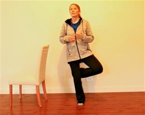 Balance Exercise Progressions/Option #2: Add Movement