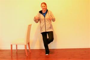 Balance Exercise Progressions/Option #5: Eyes Shut