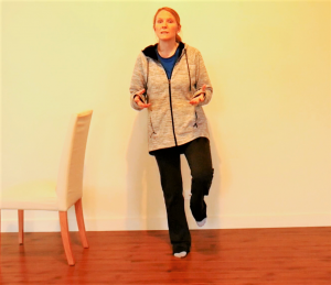 Balance Exercise Progressions/Option #1: Hold on a Chair or Not