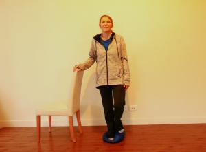 Balance Exercise Progressions/Option #4: Altered Surface